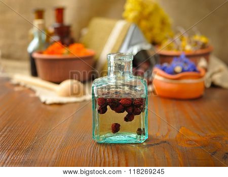 Tincture Of Berries, Herbal Medicine