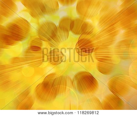 Abstract Speed Lines Gold  Background