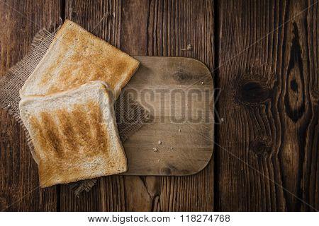 Toast Bread (toasted)