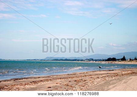 Paraparaumu Beach, New Zealand.