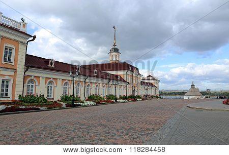 Cannon Yard Kazan Kremlin (main Building)