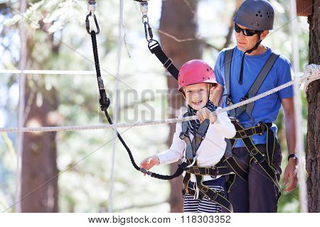 Family At Treetop Park
