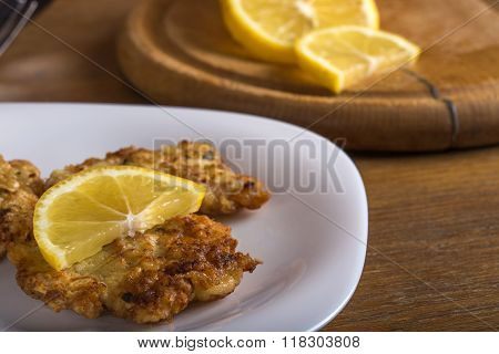 Chicken Schnitzel With Lemon