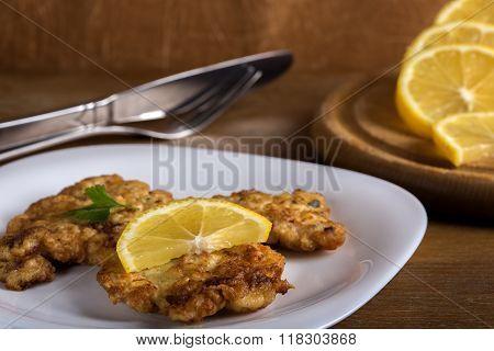Homemade Chicken Schnitzel