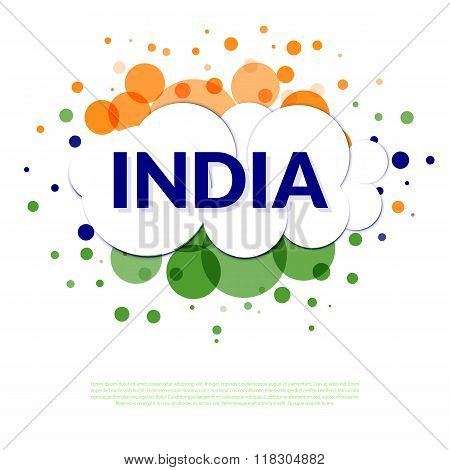 India flag banner
