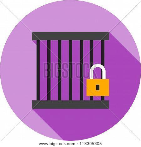Jail cell or Locker Room