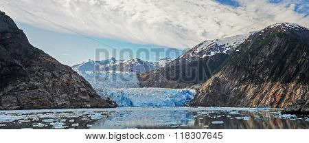Iceberg in Tracy Arm Fjord near the Sawyer Glaciers
