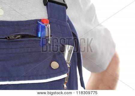 Detail Of Work Wear