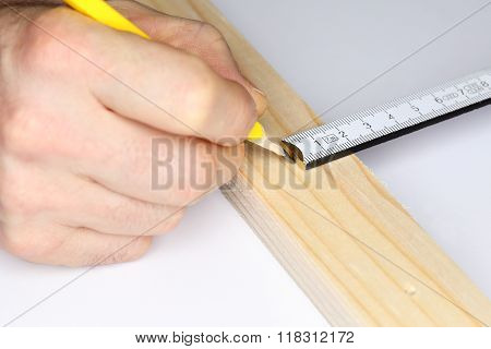 Metering Scale And Pen