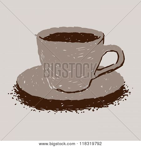 Simple Hot Cocoa In Cup Icon