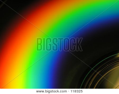 CD With Rainbow