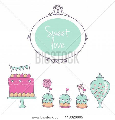Decor And Cake Color