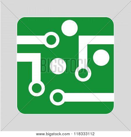 Circuit Board Logo Design