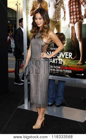 Jamie Chung at the Los Angeles premiere of 'The Hangover Part II' held at the Grauman's Chinese Theatre in Hollywood, USA on May 19, 2011.