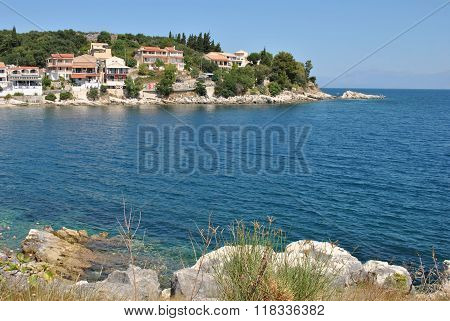 Greece, Corfu island, Kassiopi village