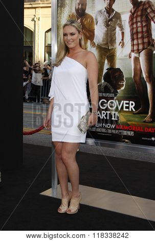 Lindsey Vonn at the Los Angeles Premiere of