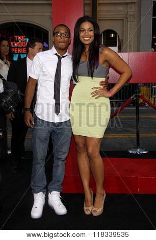 Romeo Miller and Jordin Sparks at the Los Angeles Premiere of