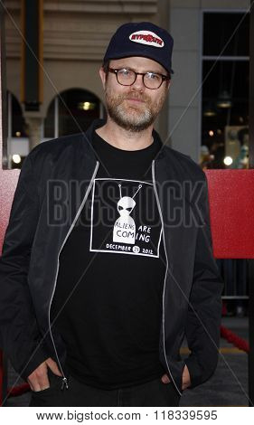 Rainn Wilson at the Los Angeles Premiere of