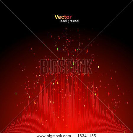 Vector Red Equalizer