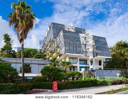 Modern Building Hotel Plaza 3 * On Promenade, Herceg Novi, Montenegro