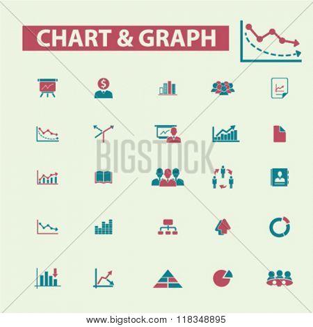chart, graph, business presentation icons, marketing presentation icons