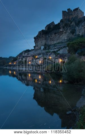Chateau De Beynac at Dawn