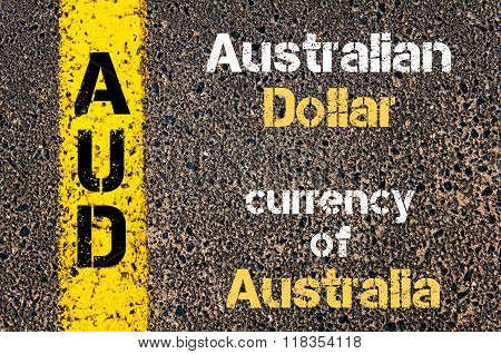 Acronym Aud - Australian Dollar, Currency Of Australia