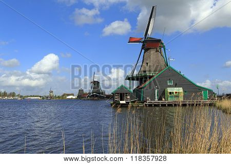 Windmills North Holland
