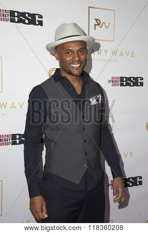 LOS ANGELES - FEB 14:  Kenny Lattimore at the Primary Wave 10th Annual Pre-GRAMMY Party at the London West Hollywood on February 14, 2016 in West Hollywood, CA