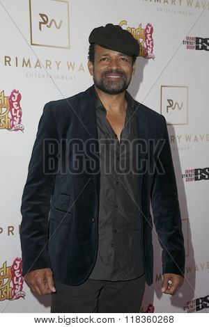 LOS ANGELES - FEB 14:  Mario Van Peebles at the Primary Wave 10th Annual Pre-GRAMMY Party at the London West Hollywood on February 14, 2016 in West Hollywood, CA