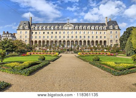 Saint-george Palace In Rennes, France