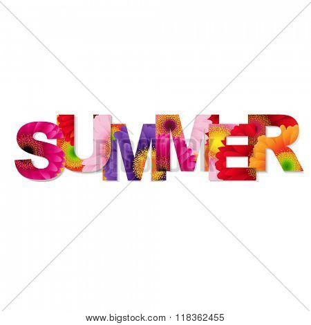 Color Gerbers Summer Banner