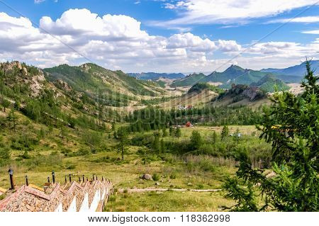 View Of Gorkhi Terelj National Park, Mongolia
