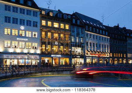 Urban Lights Of Munich