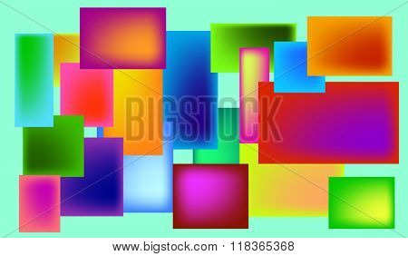 Colorful figures
