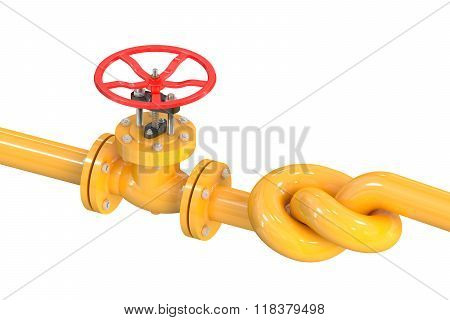 Pipeline With A Knot