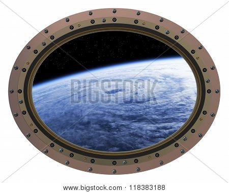 Space Station Porthole