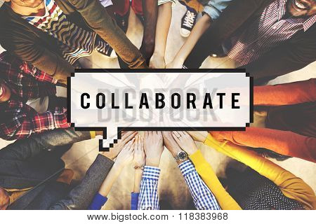 Collaborate Teamwork Partnership Support Togetherness Concept