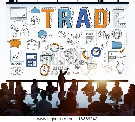 Trade Trading Commerce Deal Exchange Swap Concept