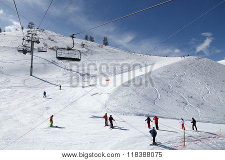 Ski Center In France