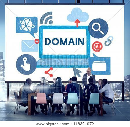 Domain Address Territory Homepage Area Concept