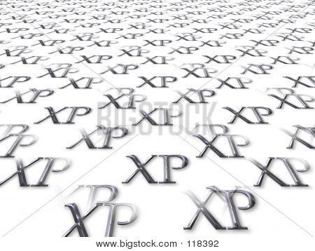 XP-letters As Background