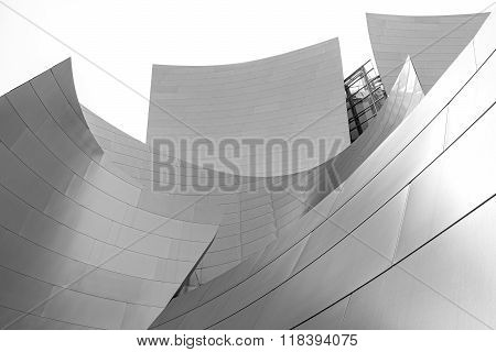 Walt Disney Concert Hall.