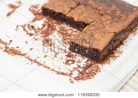 Homemade Chocolate Brownie