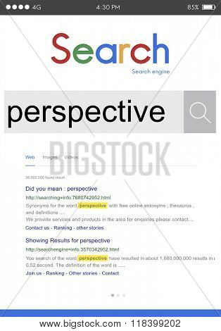 Perspective Angle Outlook Position Standpoint View Concept