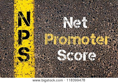 Business Acronym Nps Net Promoter Score