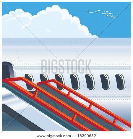 Modern Jet Airliner