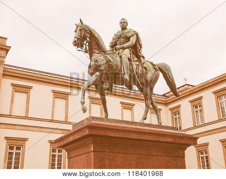 Wilhelm I Monument Vintage