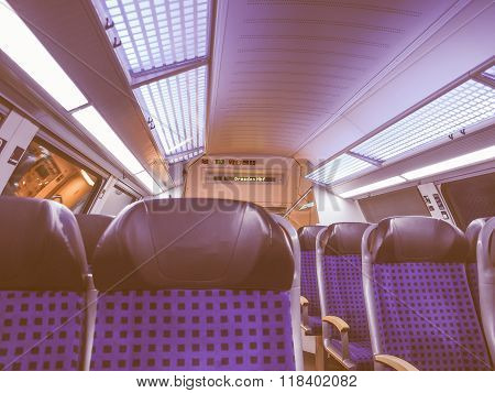 German Regional Train Vintage