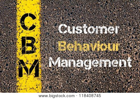 Business Acronym Cbm Customer Behaviour Management